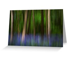 Bluebell impressionism! Greeting Card