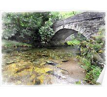 River Brathay, Elterwater, Cumbria Poster