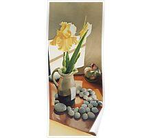 """MaryBum's Iris"" Watercolor Poster"