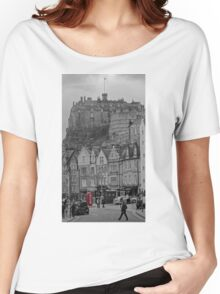 Edinburgh Phone Box Women's Relaxed Fit T-Shirt
