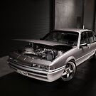 Silver Holden VL Commodore Turbo by HoskingInd