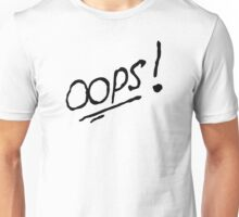 Oops! (Louis Tomlinson Tattoo) Unisex T-Shirt
