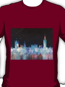 Westminster And Big Ben Cosmos T-Shirt