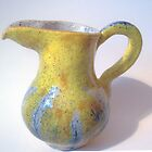 'Yellow Jug' by fi-ceramics