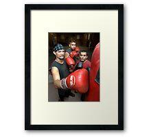 The Boyz...? Framed Print