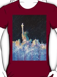 Liberty And New York Cosmos T-Shirt