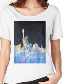 Liberty And New York Cosmos Women's Relaxed Fit T-Shirt
