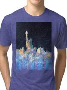 Liberty And New York Cosmos Tri-blend T-Shirt