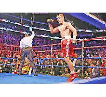 Knockout Painting Photographic Print