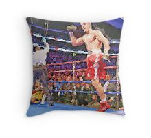 Knockout Painting Throw Pillow