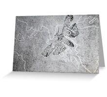 Woodcut: Lace Moth Greeting Card
