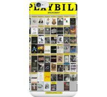 Broadway Playbill Collage iPhone Case/Skin