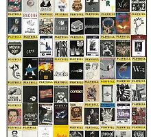 Broadway Playbill Collage by morgliz97