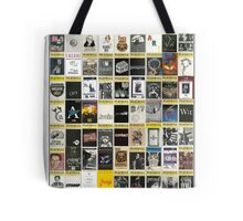 Broadway Playbill Collage Tote Bag