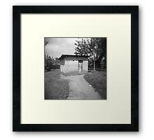 lonesome abode Framed Print