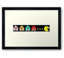 Angry Birds Pac-Man 2 Framed Print