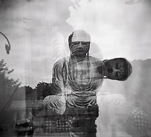 the great buddha, meditation and sleep  by irisphotography