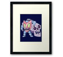 Guts n' Skull Framed Print