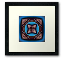 8 Leaves Framed Print