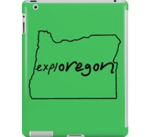explOREGON iPad Case/Skin