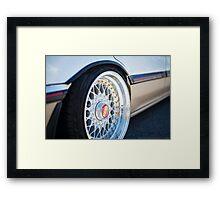 BBS Honda Civic Framed Print