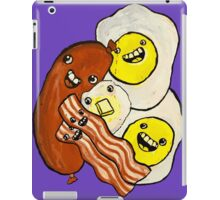 Eggs, Bacon, Grits, SAUSAGE! iPad Case/Skin