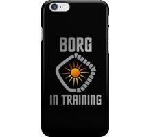 Borg in Training iPhone Case/Skin