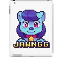 Jawnchip Pixels iPad Case/Skin