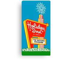 HOLIDAY INN Canvas Print