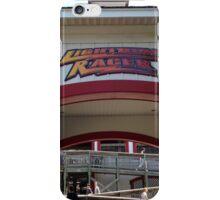 Lightning Racer, Hersheypark iPhone Case/Skin