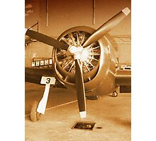 Planes Of Past Props Photographic Print