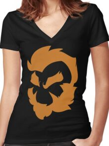 BOWZ-1 Women's Fitted V-Neck T-Shirt