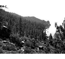 Black And White Landscape 17  Photographic Print