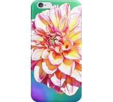 Peachy Zinnia iPhone Case/Skin