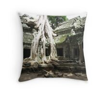 Rooted in antiquity - Ta Prohm Throw Pillow