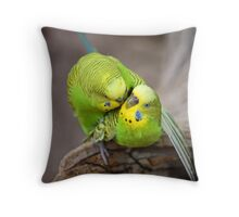 The Birds and The Bees Throw Pillow
