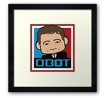 Rand Paul Politico'bot Toy Robot 3.0 Framed Print