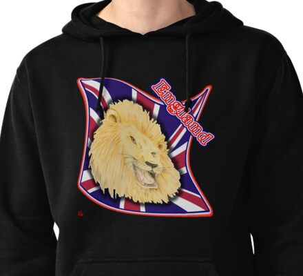 PATROITISM / ENGLAND Pullover Hoodie