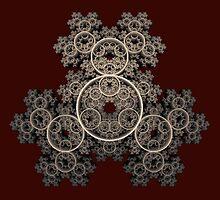 'Janus Texture Feedback Spiral 1' by Scott Bricker