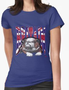 PATRIOTISM / ENGLAND Womens Fitted T-Shirt