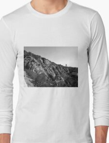 Black And White Landscape 20 Long Sleeve T-Shirt