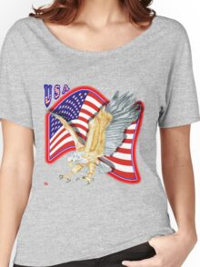 PATRIOTISM / USA Women's Relaxed Fit T-Shirt