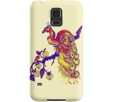 Peacock in a Peach Tree (Remix) Samsung Galaxy Case/Skin