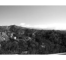 Black And White Landscape 21 Photographic Print