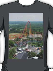 Volcano: The Blast Coaster, Kings Dominion T-Shirt