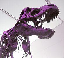 Purple Dinosaur by jHYtse