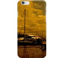 Gold Coast in the evening light. iPhone Case/Skin