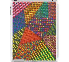 Abstract Geometric Rainbow Zentangle iPad Case/Skin