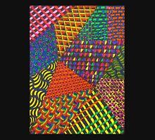 Abstract Geometric Rainbow Zentangle Tank Top