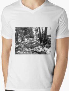 Black And White Landscape 24 Mens V-Neck T-Shirt